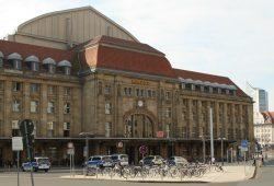Radabstellanlage am Hauptbahnhof Leipzig. Foto: Ralf Julke