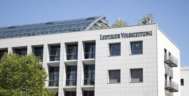 Sitz der LVZ-Redaktion im Peterssteinweg. Foto: L-IZ.de