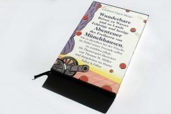 Gottfried August Bürger: Wunderbare Reisen zu Wasser und zu Lande, Feldzüge und lustige Abenteuer des Freiherrn von Münchhausen. Foto: Ralf Julke