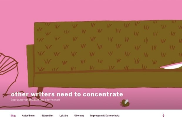 Der Blog www.other-writers.de, gestaltet von Miriam Zedelius. Screenshot: L-IZ