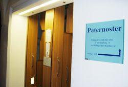 Paternoster im Neuen Rathaus. Foto: Ralf Julke