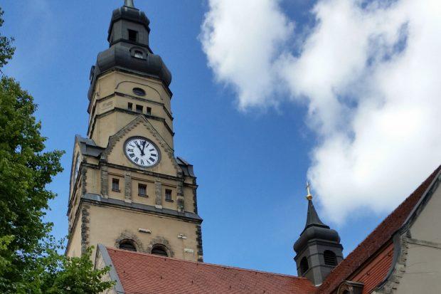 Turm der Philippuskirche. Foto: Marko Hofmann