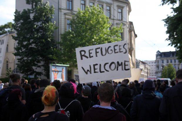Als vor fünf Jahren viele Menschen nach Deutschland flüchteten, planten Mitglieder der Burschenschaft Germania, sich zu bewaffnen. Foto: L-IZ.de