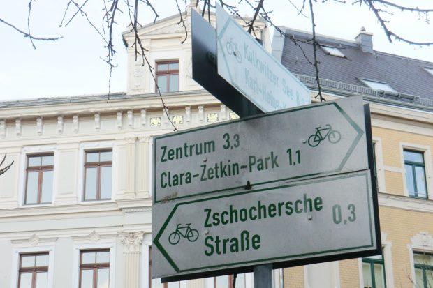 Hier geht's lang im Leipziger Westen. Foto: Marko Hofmann