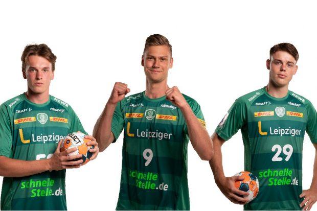 Akos Szeles, Julius Meyer-Siebert und Nicolas Neumann. Quelle: Fotohaus Klinger