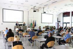 Vortrag zur Digitalisierung an der PolFH © Hochschule der Sächsischen Polizei