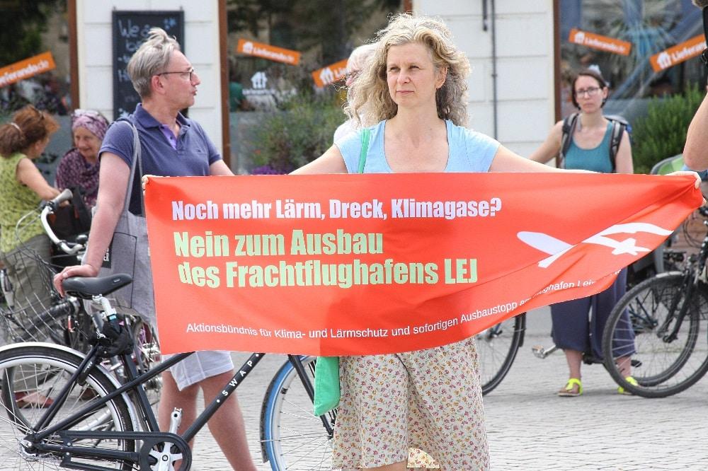 Nein zum Flughafenausbau. Foto: L-IZ.de