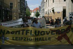 Am Markt und in der Petersstraße war die größte Aufmerksamkeit erreicht. Foto: Sebastian Beyer