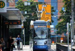Die LVB am Hauptbahnhof. Foto: L-IZ.de
