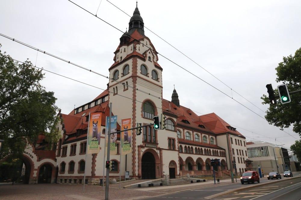 Orte kolonialen Handelns und Denkens - der Leipziger Zoo heute. Foto: LZ