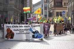 Demonstration durch die Innenstadt. Foto: L-IZ.de