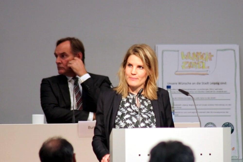 Sophia Kraft (Grüne). Foto: LZ