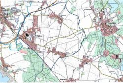 Sperrbzirk AFB - Großpösna, Fuchshain,Threna. Quelle: Landkreis Leipzig