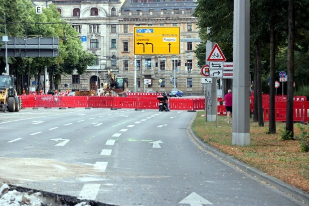 Verwirrung an der Baustelle. Foto: L-IZ.de