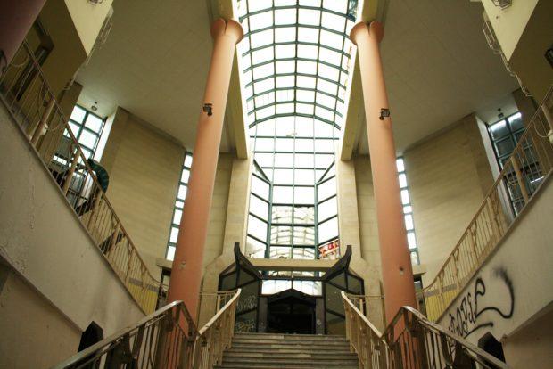 Das Foyer soll in seiner Originalgestalt erhalten bleiben. Foto: Ralf Julke