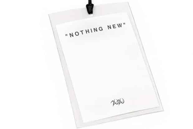 Nothing New. Grafik: Galerie Reiter