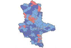 Sachsen-Anhalt: Nur ganz wenige stabile Regionen. Grafik: IfL