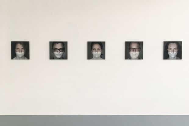 """Michael Zettler, Ausstellung """"Zwischen"""". Foto: ODP Galerie"""