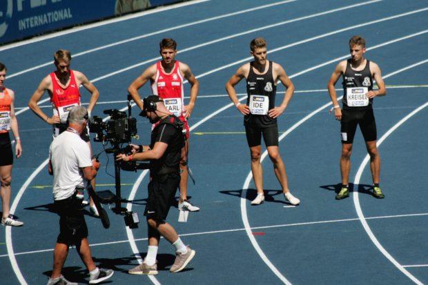 Alle vier SC DHfK-Starter liefen toll über 1500 m. Alexander Ide zog als Einziger ins Finale ein Foto: Sebastian Beyer