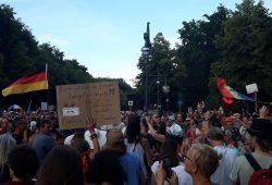 So sah es am 1. August in Berlin aus. Foto: L-IZ.de