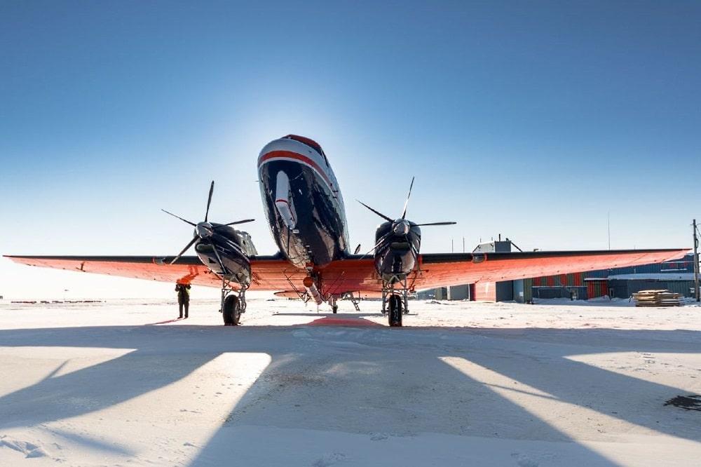 Das Forschungsflugzeug des Alfred-Wegener-Institutsstartet in die nächste Messkampagne. Foto: Alfred-Wegener-Institut/Stefan Hendricks
