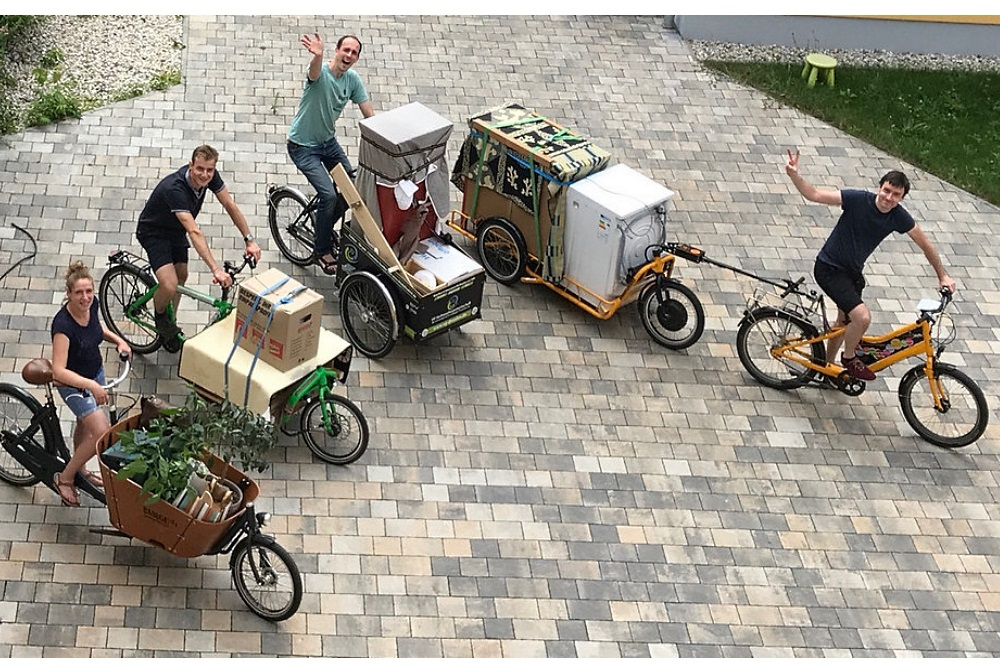 Freie Lastenräder des ADFC Dresden. Foto: Simon Rothe / ADFC