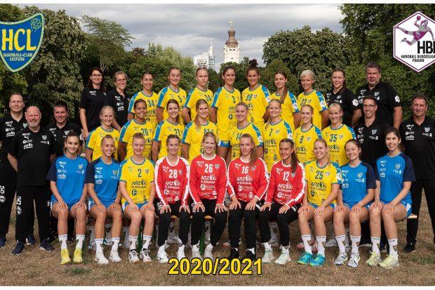 HC Leipzig, 1. Mannschaft, Saison 2020/21. Quelle: HC Leipzig e.V.