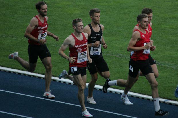 Im Finale über 1500 Meter ging Alexander Ide aufs Ganze Foto: Sebastian Beyer