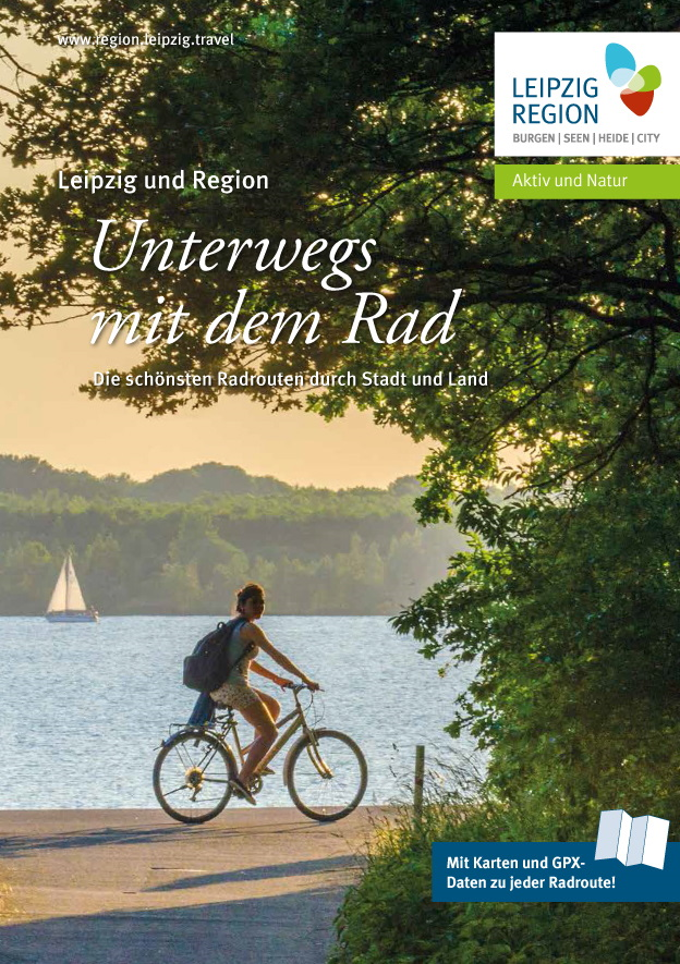 Neuseenland-Radroute: Blick vom Aussichtsturm Bistumshöre auf den Cospudener See und das Leipziger Neuseenland. Foto: Andreas Schmidt