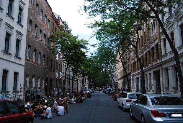 Die Ludwigstraße am 21. August 2020. Foto: L-IZ.de