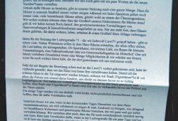 Ludwigstraße 71 - Erste Informationen für die Nachbarn. Foto: L-IZ.de