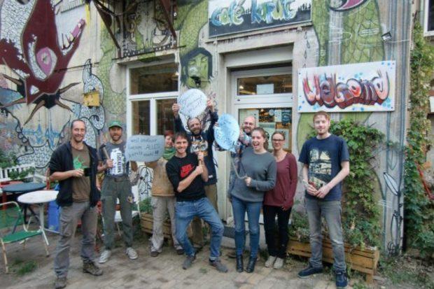 "Archivbild: Die Mannschaft des ""Café kaputt"". Foto: Sebastian Kastenholz, Café kaputt"
