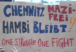In Chemnitz wird über Antifaschismus diskutiert. Symbolfoto: L-IZ.de