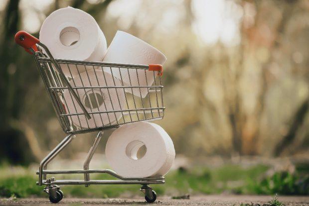 Der bei einer antifaschistischen Auktion zu ersteigernde Einkaufswagen könnte bald sehr nützlich werden. Symbolfoto: Alexas_Fotos, Pixabay