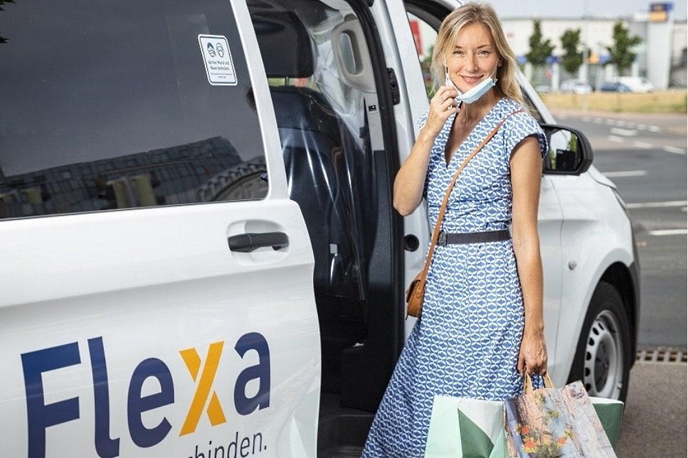 Flexa-Angebot im Leipziger Norden. Foto: Leipziger Gruppe