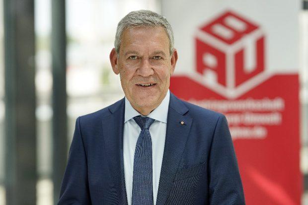 Robert Feiger, IG BAU-Bundesvorsitzender. © IG BAU/Alexander Paul Englert
