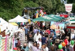 Fockebergmarkt im vergangen Jahr. Foto: Tine Zeiler