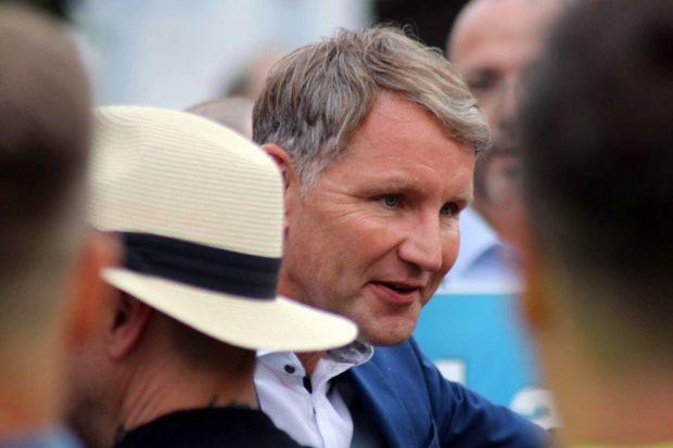 Björn Höcke gilt als einflussreicher Strippenzieher des rechtsradikalen Parteiflügels. Foto: L-IZ.de