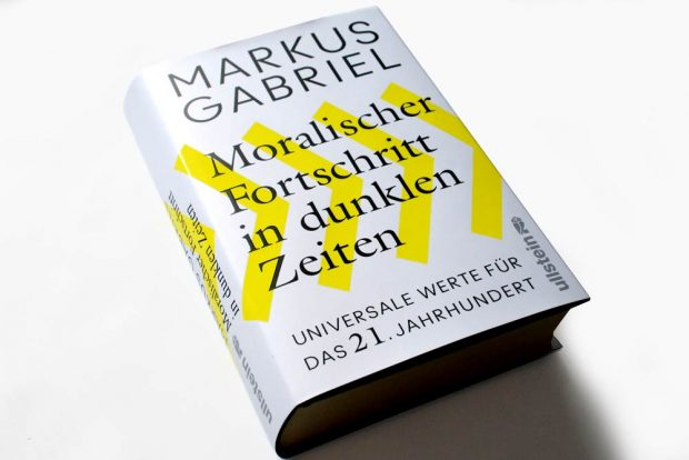 Markus Gabriel: Moralischer Fortschritt in dunklen Zeiten. Foto: Ralf Julke