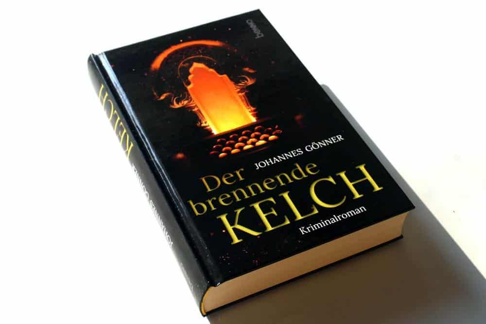 Johannes Gönner: Der brennende Kelch. Foto: Ralf Julke
