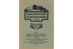 """Das """"Grüne Heft"""" von 1915. Foto: Hans-Jürgen Dietrich"""