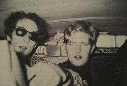 """Ralf Donis (rechts) während einer US-Tour 1993 mit seiner Band """"Love Is Colder Than Death"""". © privat"""
