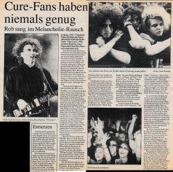 """Auch die Zeitung """"Wir in Leipzig"""" war live dabei. Bericht am 6.8.1990. © privat"""