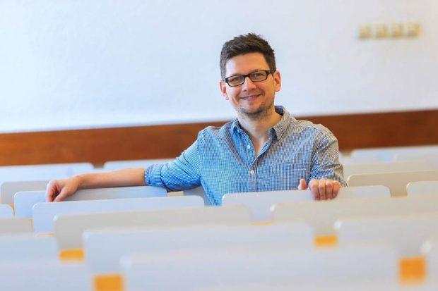 Prof. Dr. Henrik Saalbach. Foto: Swen Reichhold
