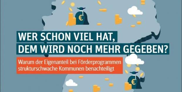 """Das Positionspapier """"Wer schon viel hat, dem wird noch mehr gegeben?"""" Grafik: Berlin Institut"""