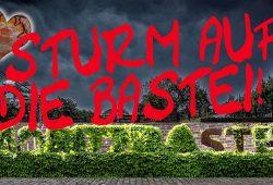 Sturm auf die Bastei. Foto: Armin Zarbock
