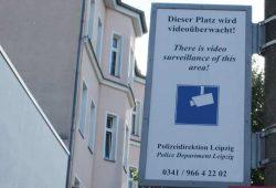 Kameraüberwachung am Connewitzer Kreuz. Foto: Ralf Julke