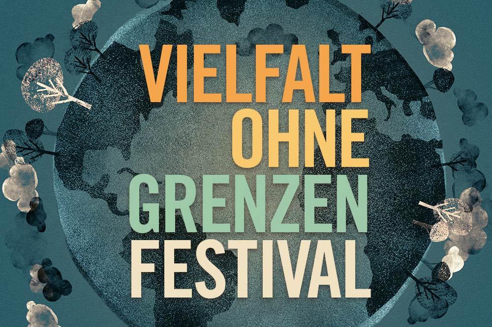 Vielfalt ohne Grenzen Festival. Grafik: Deutsch-Spanische Freundschaft e.V.