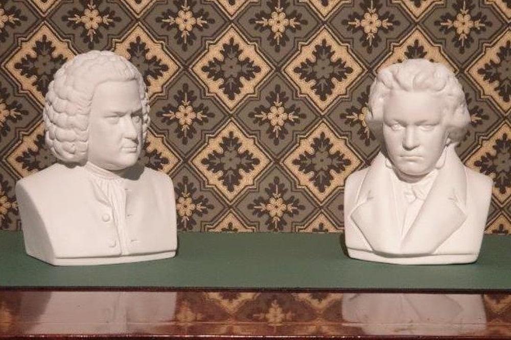 Bach u. Beethoven. Foto: Brigitte Braun