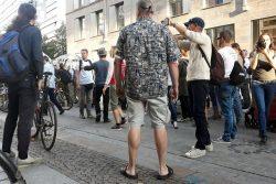 Debatte mit Jürgen Kasek nach dem Motto aus den Augen, aus dem Sinn: Na, wer hat denn noch Corona? Foto: L-IZ.de